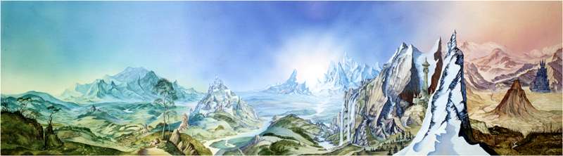 Tolkien Landscape - Click Image to Close