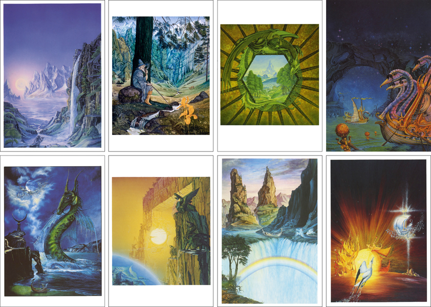 Tolkien Card Pack 1 (8 cards)