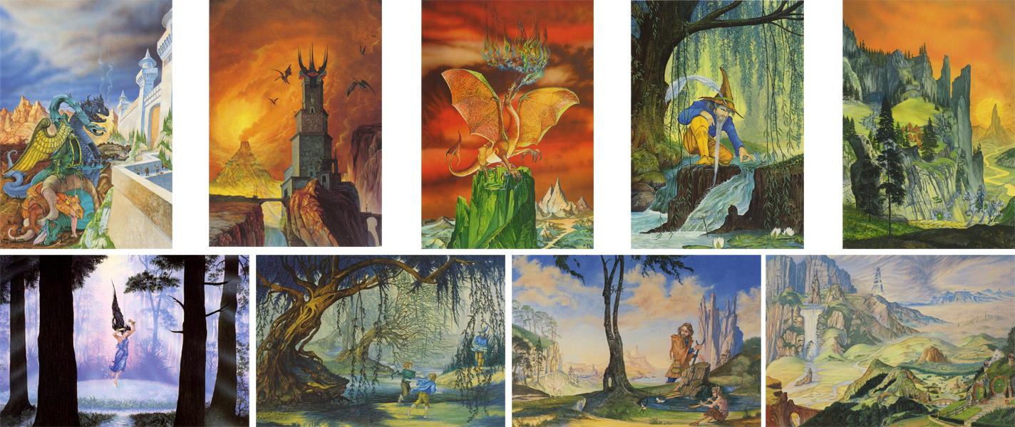 Tolkien Card Pack 2 (9 cards)